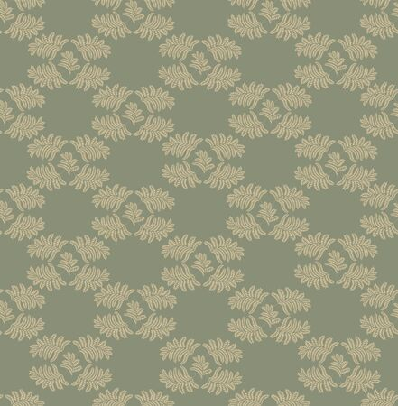 Floral pattern seamless  Flourish ornamental background Stock Vector - 16473147