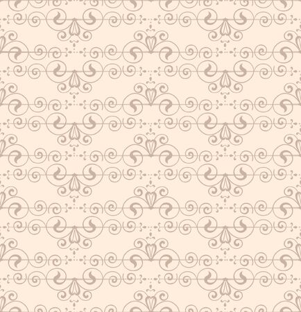 marriage bed: Floral pattern seamless  Abstract white background