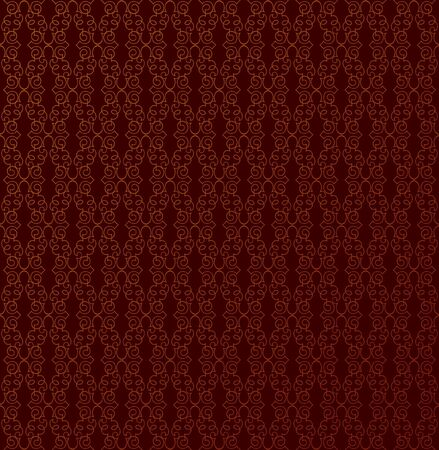 Floral pattern seamless  Abstract choclate background  Vector