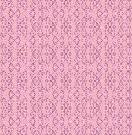 Floral pattern seamless  Abstract pink background  Vector