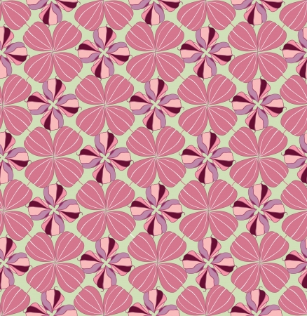 winter cherry: Floral pattern seamless  Winter cherry, floral ornament on pink background