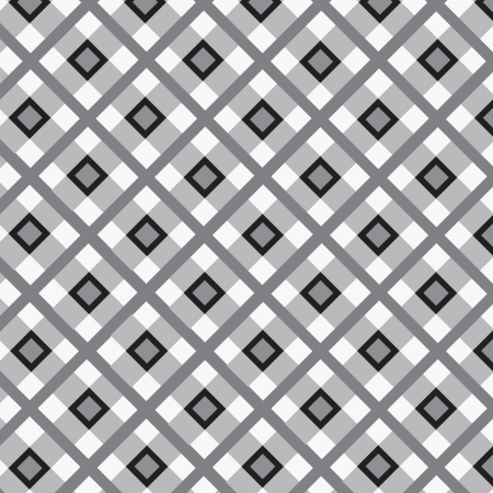 Checkered cotton fabric seamless pattern Stock Vector - 16473010