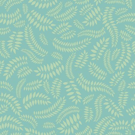 green leaves seamless pattern Stock Vector - 16510055