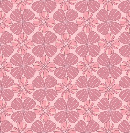 floral pink seamless pattern  winter cherry ornament background  Vector