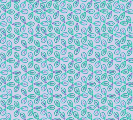 Floral pattern seamless  Flower vector motif on blue background  Vector