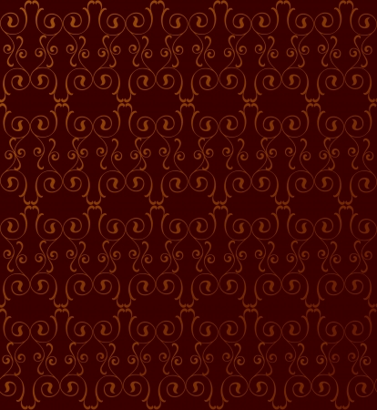 seamless pattern with lightning ornament on red background  Illustration