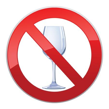 no alcohol sign Stock Vector - 16875543