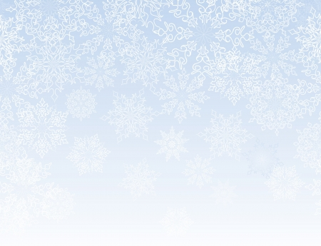 Snowflakes seamless pattern, christmas snow background   Stock Vector - 16875615