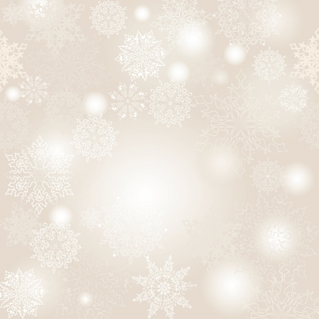 Christmas seamless vector background  New Year pattern   Illustration