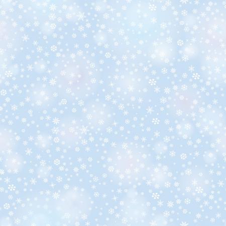 snow flakes: Sneeuwvlokken naadloze patroon, kerst sneeuw achtergrond