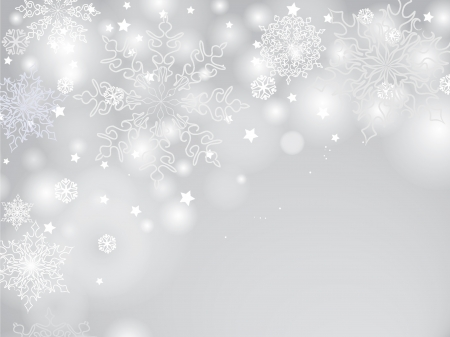 Snowflakes christmas pattern, snow border background