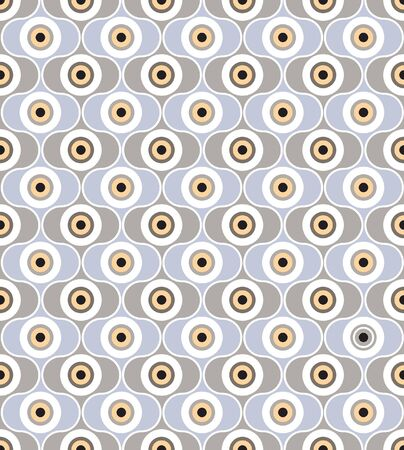 seamless pattern from abstract geometric ornament Stock Vector - 17203891