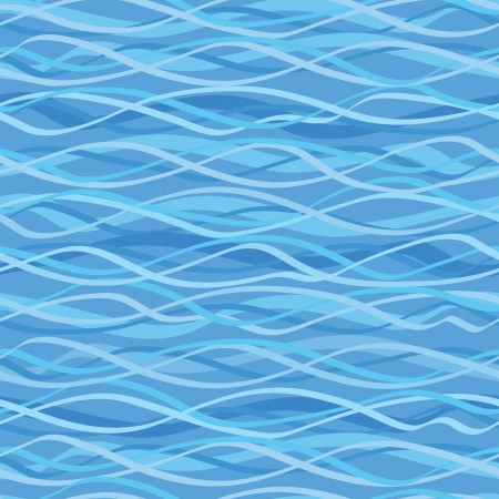 Abstract seamless texture marine motif  Wavy background Stock Vector - 17203972