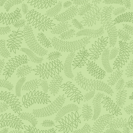 Abstract lacy seamless background with falling leaves Vector