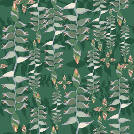 Abstract floral seamless texture  Floral seamless pattern   Leaves background  Vector