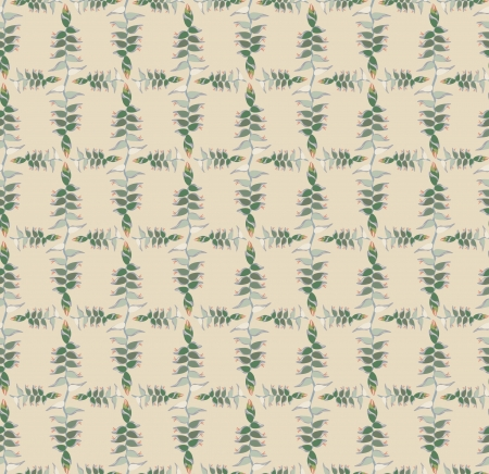 pale ocher: Abstract floral retro seamless pattern for page decoration  Vintage Vector Design Ornament