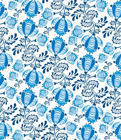 seamless pattern with lightning ornament on white background  Vector