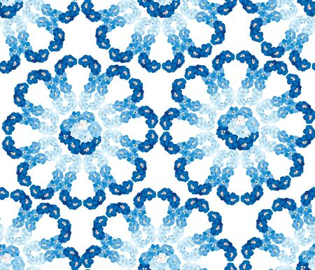 flower seamless pattern, floral background Vector
