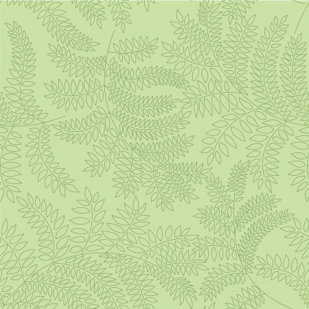 Abstract ornamental seamless texture  Floral seamless pattern   Leaves background  Vector