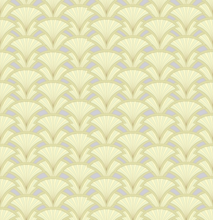 Abstract floral retro seamless pattern from lines for page decoration Stock Vector - 17279986