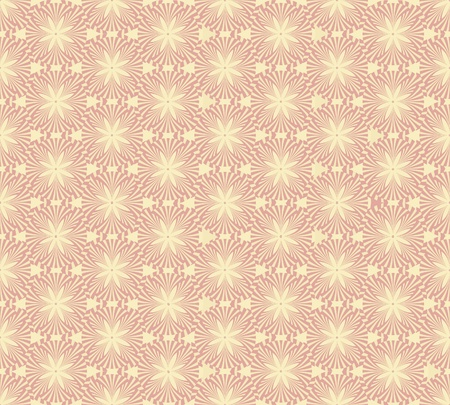 Abstract floral retro seamless pattern from lines for page decoration Stock Vector - 17279991