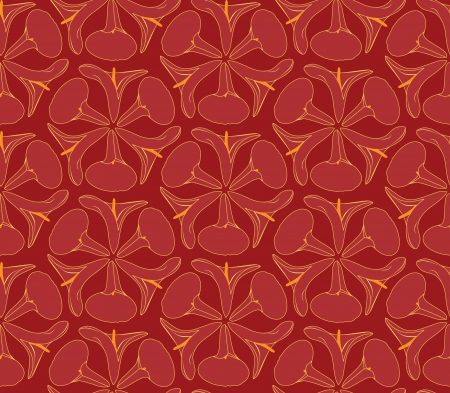 Abstract floral decorativo retro flower seamless background cal