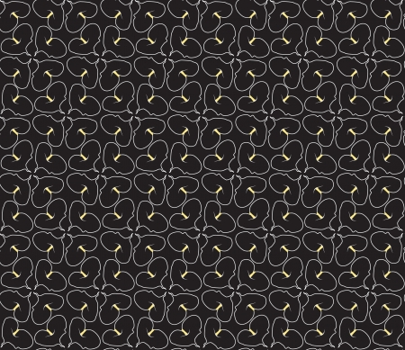 cal: Abstract decorative floral retro seamless pattern  flower cal background