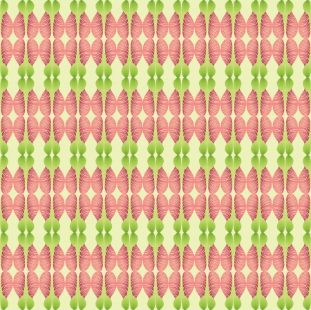 Abstract wavy lined pattern seamless  Floral ornamental background background Vector