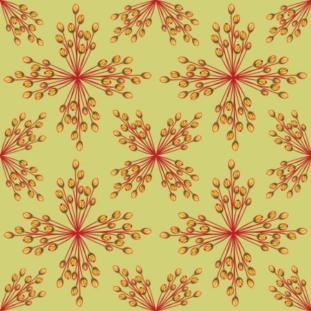 Abstract ornamental seamless texture  Floral seamless pattern   Flower background Stock Vector - 17280366