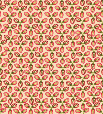 Abstract ornamental seamless texture  Floral seamless pattern   Flower background  Vector