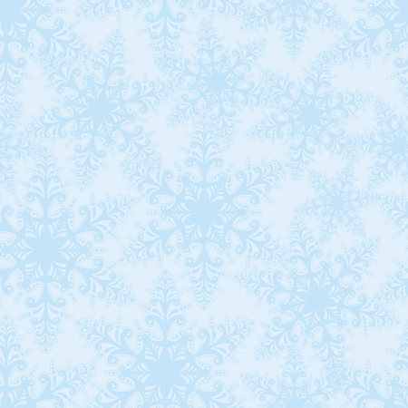 snowflakes seamless vector background  Christmas snow decor