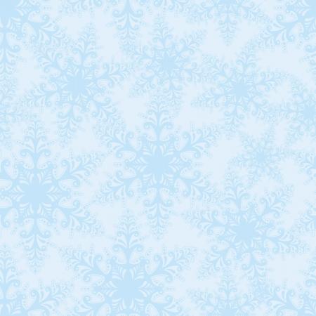 saemless: snowflakes seamless vector background  Christmas snow decor