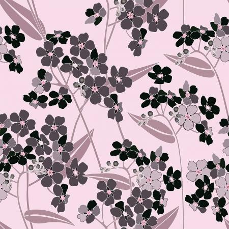 floral seamless background texture douce motif floral élégant