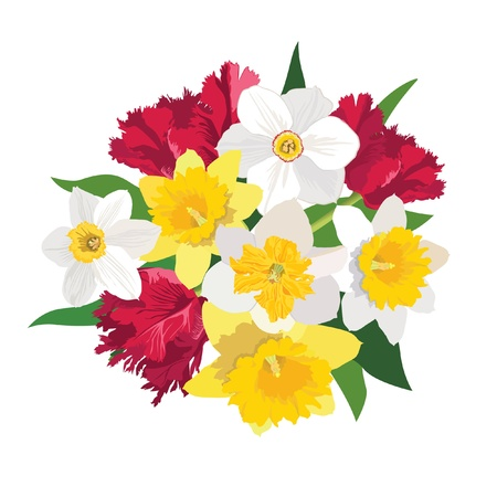 flower bouquet   Stock Vector - 17715682