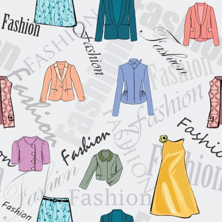 female fashion background Stock Vector - 17715826