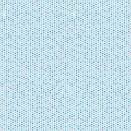 abstract blue seamless background  circle geometric pattern  Polka Dot Fabric Background   Vector
