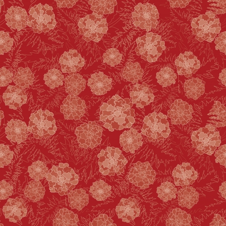 rt: Floral seamless background with red, yellow and purple flowers  Ornate flower pattern
