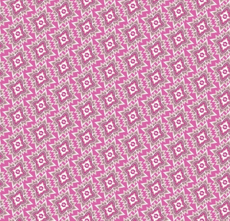 Abstract Floral Seamless Vector Background Texture  Seamless pattern with lightning ornament on pink background  Vector