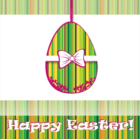 Happy Easter Card Stock Vector - 18030330