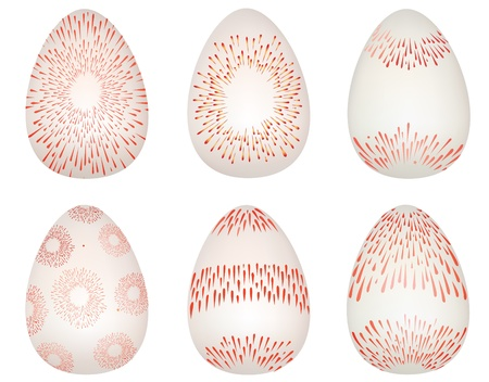 Easter eggs  set Stock Vector - 18030352