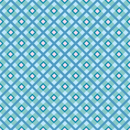 picnic tablecloth: Checkered cotton fabric seamless pattern