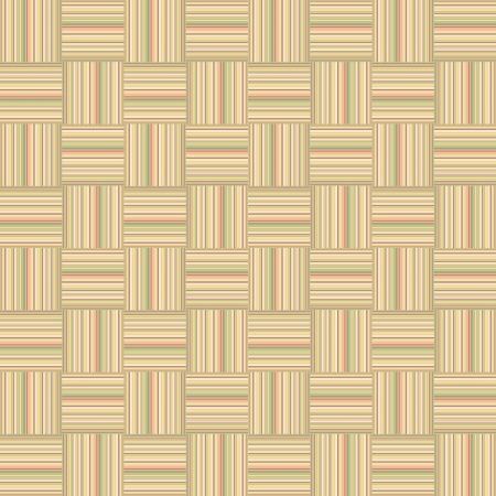 seamless light oak square parquet panel texture  wood background  Vector