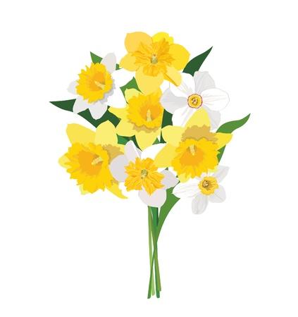 Blumenstrauß isoliert