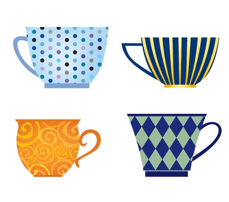 Cup collection  Coffee cup vector collection   icon set  Stock Vector - 18393867
