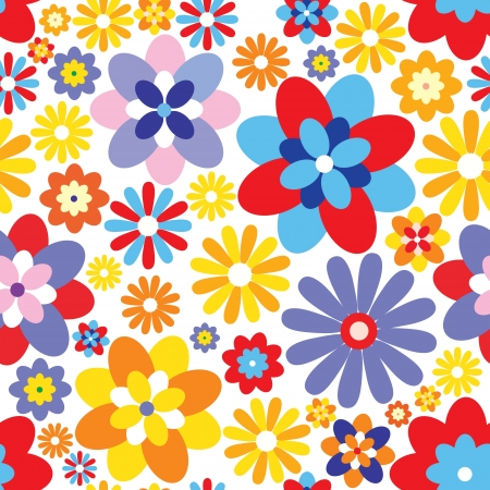 soft textile: Abstract Elegance Seamless pattern with floral background
