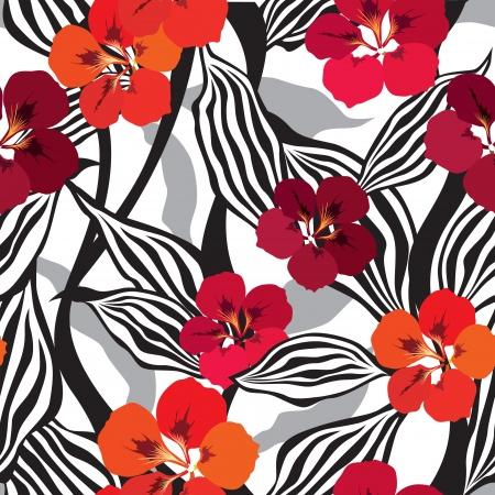 floral nahtlose Muster mit sanften Blumen bl?hen nahtlose Hintergrund