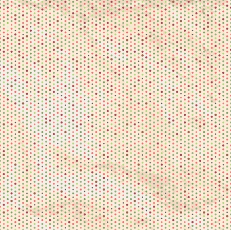 Vintage Polka Dots Seamless Background  Vector