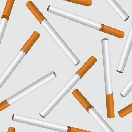cigarette seamless background  Stock Vector - 19619659