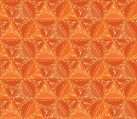 Abstract bright summer geometric seamless background   Vector