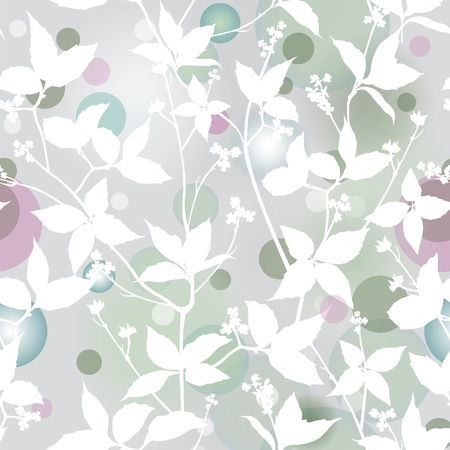 asian gardening: Floral stylish background  Elegance Seamless pattern with flowers ornament, vector floral illustration in vintage style